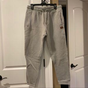 Billabong Men's grey Sweatpants/Joggers